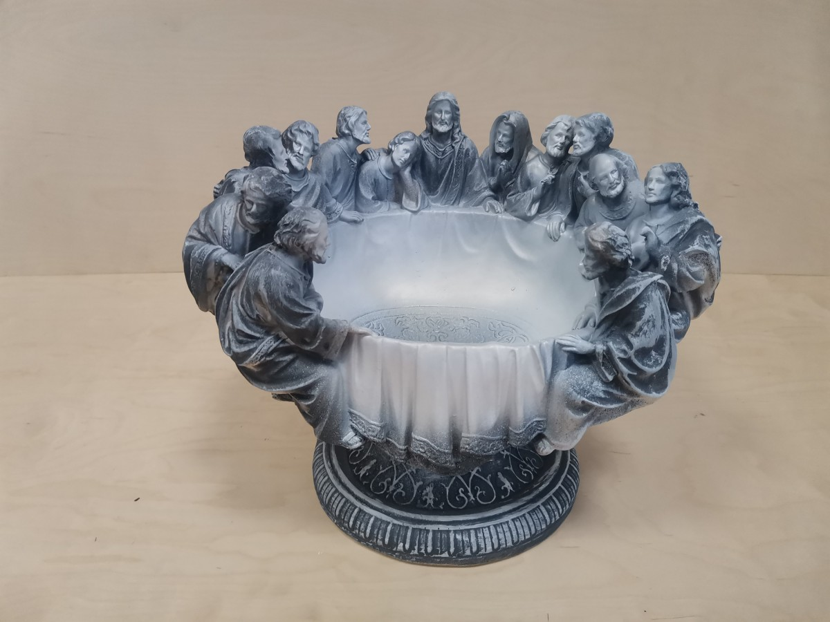 """Чаша """"12 апостолов"""", цвет - античный, 30*40 см."""