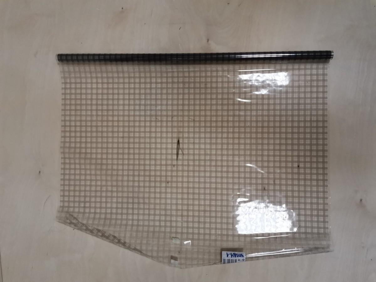 Плёнка в ролике 40 мкм 200 гр, 0,72*7,5 м, сетка серая.