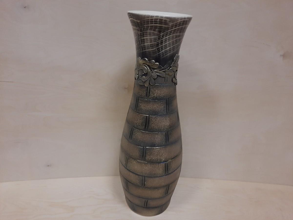 Ваза напольная, керамика, Лора, 70 см.