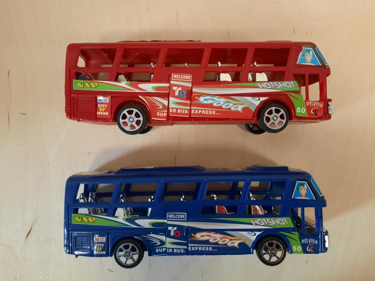 Автобус, 21*8*5,5 см. цена за 1 штуку.