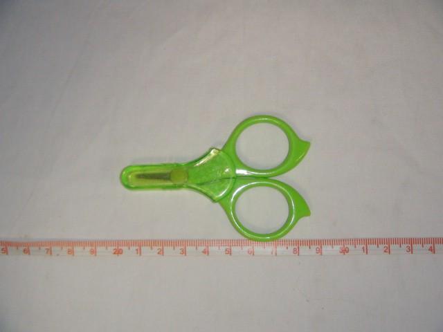 Ножницы маникюрные с колпачком на блистере 8 см.