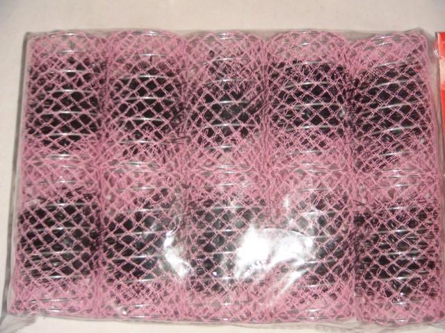 Бигуди с шпильками 70*40 мм, пластик, металл ( цена за 10 штук )