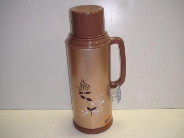 Термос металлический, стеклянная колба, 2 литра.