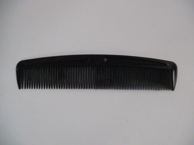 Расческа черная 18,5 см. (цена за 20 штук)