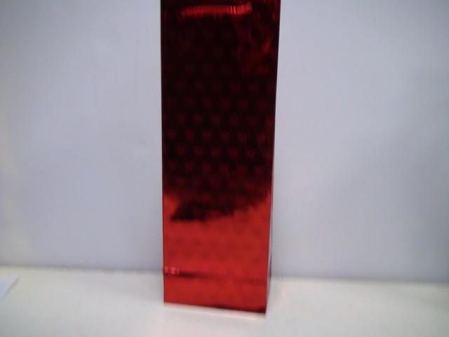 Сумка голография красная 35*12*8,5 см.