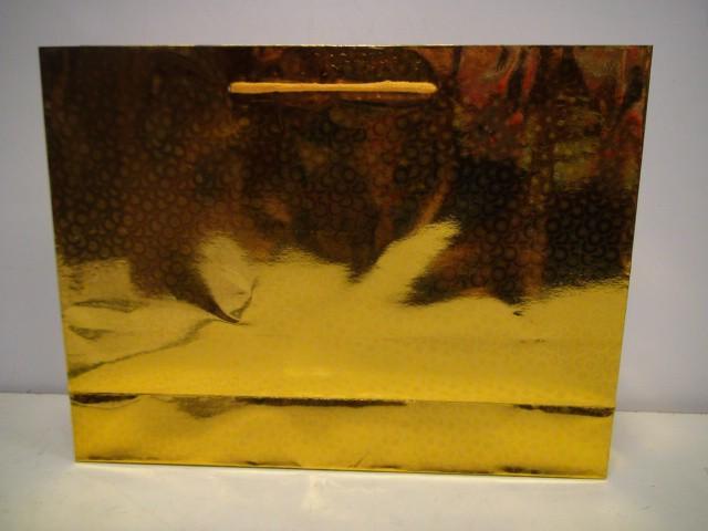 Сумка голография желтый 35*27*10 см.