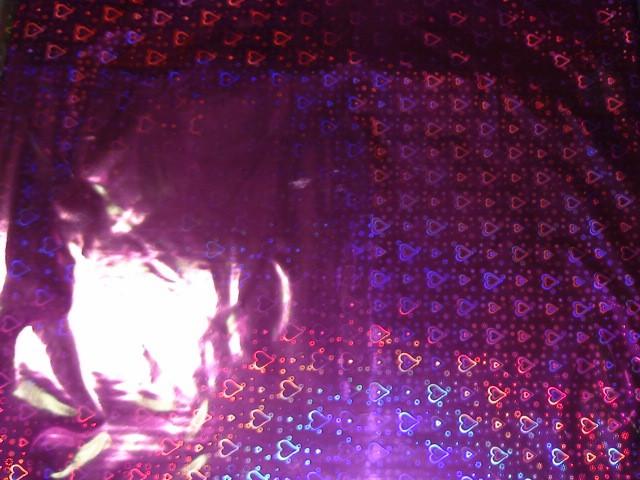 Плёнка упаковочная голография в ассортименте, малиновая 70*100 см (ЦЕНА ЗА 50 ЛИСТОВ)