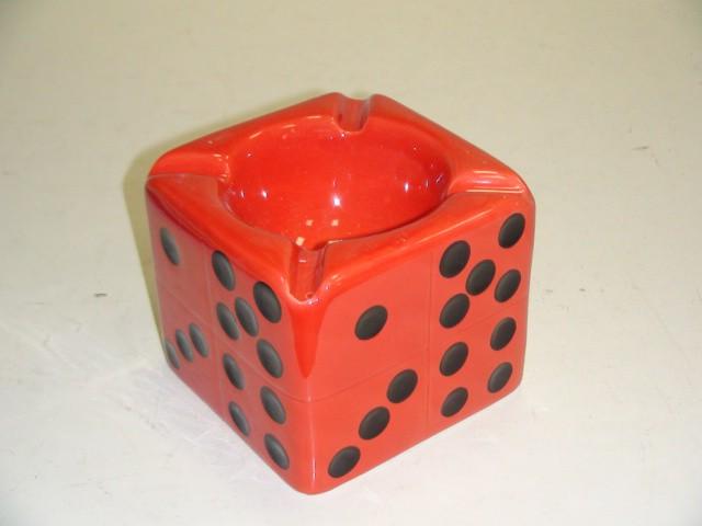 Пепельница в подарочной коробке, керамика, 9,5*9,5*8,5 см