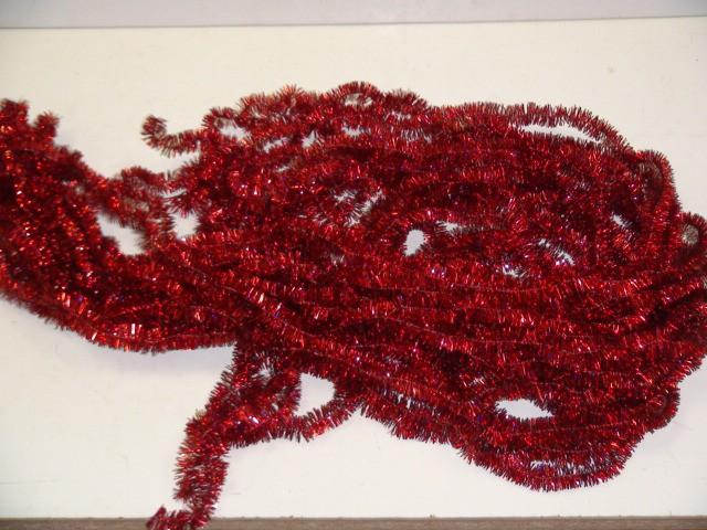 Мишура ш2см д1,5м красная (цена за связку из 20 штук)