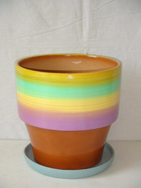 Горшок д/цветов керамический 2,7 л.