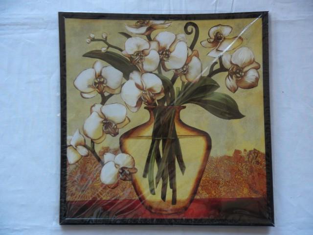 """Панно """"Орхидеи"""" 24*24 см."""