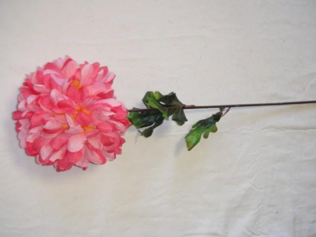 Хризантема 70 см., D=15 см., розовая