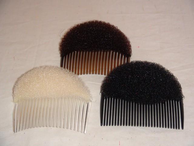 Заколка для придания начеса волосам 9 см., пластик, 1 штука.