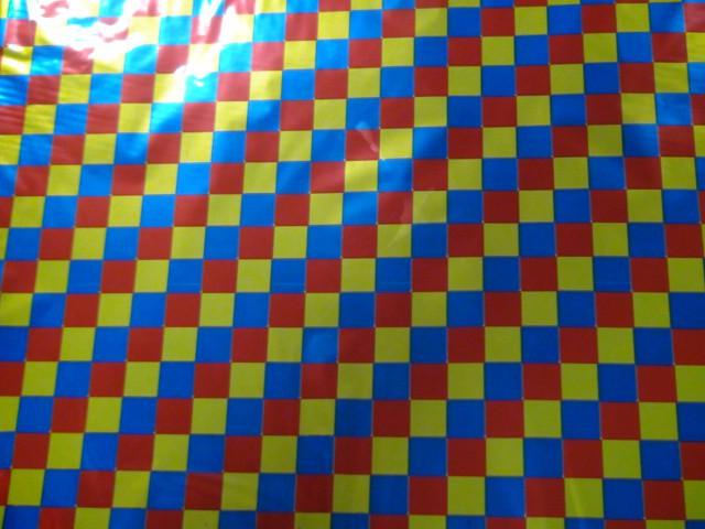 """Пленка упаковочная металлизированная """"Цветные квадраты"""" 100*70 см., пвх (ЦЕНА ЗА 50 ЛИСТОВ)"""