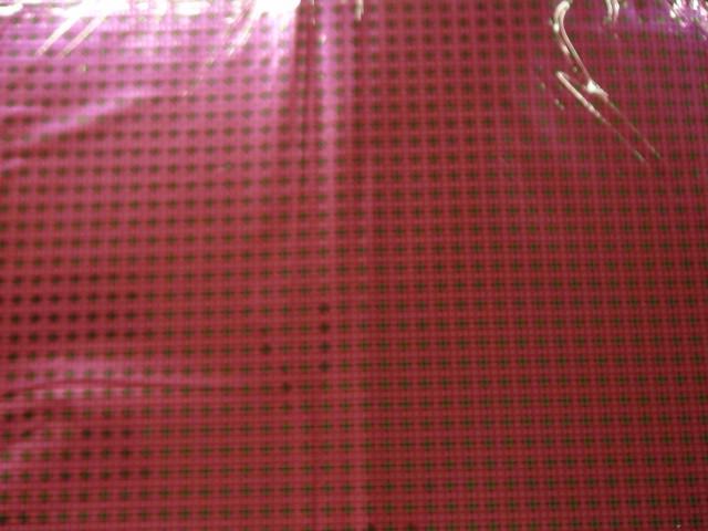 """Пленка упаковочная металлизированная """"Клетка"""" 100*70 см., пвх (ЦЕНА ЗА 50 ЛИСТОВ)"""