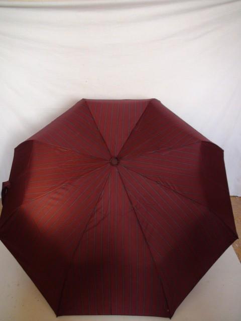 """Зонт мужской """"Полоски"""" полуавтомат, 8 спиц, красный"""